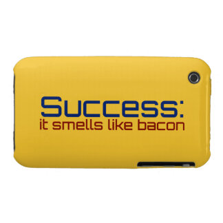 Success: It Smells Like Bacon iPhone 3 Case-Mate Case