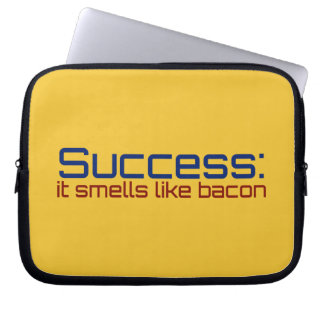 Success: It Smells Like Bacon Laptop Computer Sleeves