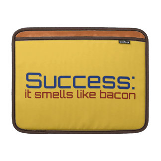 Success: It Smells Like Bacon MacBook Air Sleeves