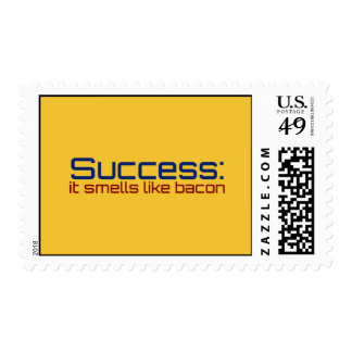 Success: It Smells Like Bacon Postage
