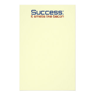 Success: It Smells Like Bacon Stationery
