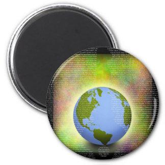 Success Key 2 Inch Round Magnet