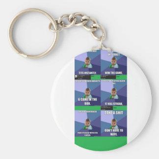 Success Kid Compilation Basic Round Button Keychain