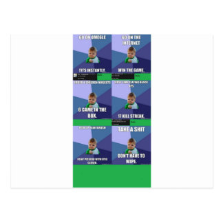 Success Kid Compilation Postcard