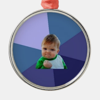 Success Kid Metal Ornament