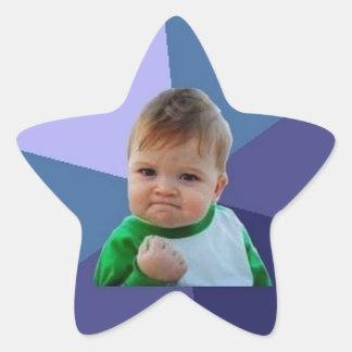 Success Kid Star Sticker