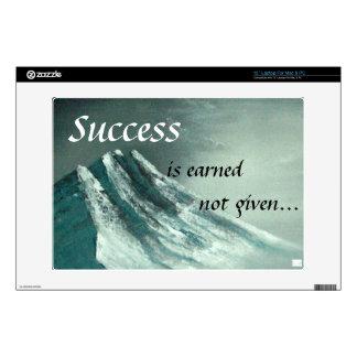 """""""Success"""" Laptop Skin"""