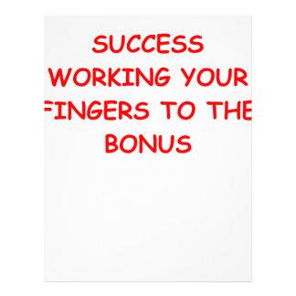 success letterhead