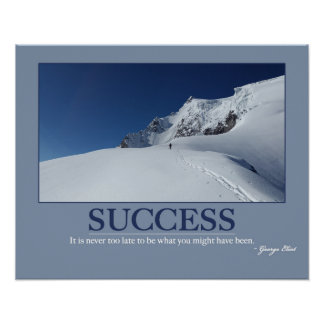SUCCESS ~ Motivation Quote Poster
