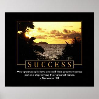 Success Motivational Poster