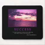 "Success Mousepad<br><div class=""desc"">&quot;It is not the position where you are standing,  but which direction you are going.&quot; -Oliver Wendell Holmes</div>"