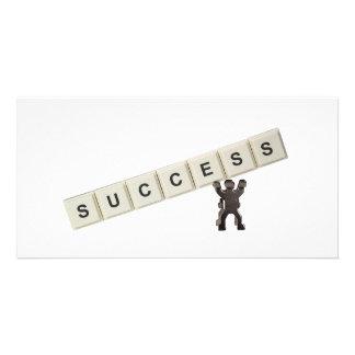 Success Photo Greeting Card