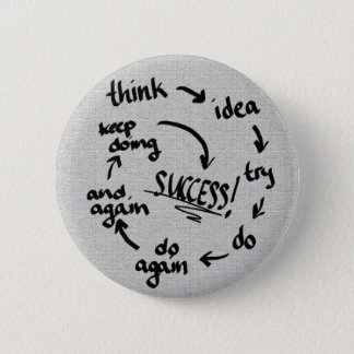 Success Pinback Button