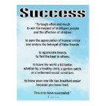 Success Postcards