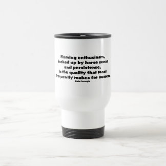 Success Quote 15 Oz Stainless Steel Travel Mug