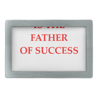 success rectangular belt buckle