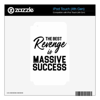 Success Revenge Decals For iPod Touch 4G