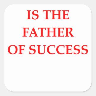 success square sticker