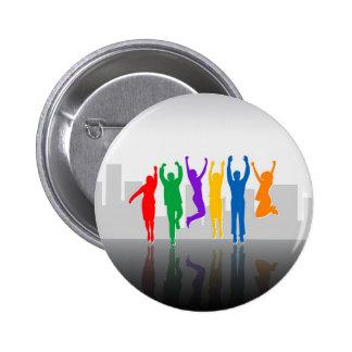 Success Team Pinback Button