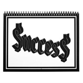 Success = $ucces$ wall calendars