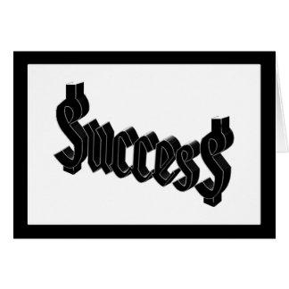 Success = $ucces$ card