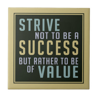 Success & Value Motivational ceramic tiles
