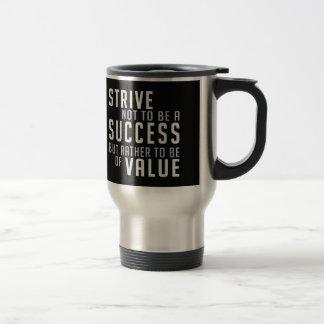 Success & Value Motivational mugs