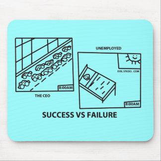 Success vs Failure Mouse Pad