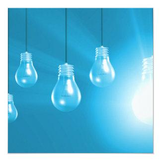 Successful Business or Idea as a Concept Card