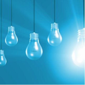 Successful Business or Idea as a Concept Cutout