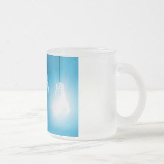 Successful Business or Idea as a Concept Frosted Glass Coffee Mug