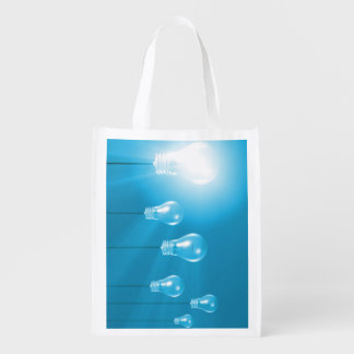 Successful Business or Idea as a Concept Reusable Grocery Bag
