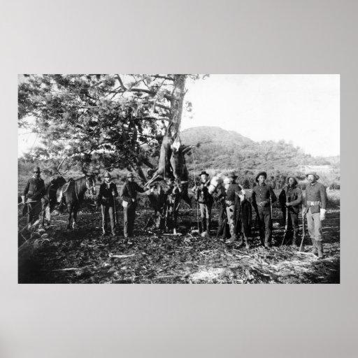 Successful Hunt, 1880s Poster