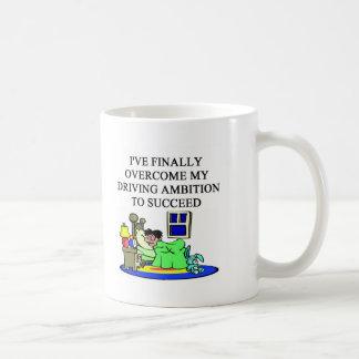 successful man classic white coffee mug
