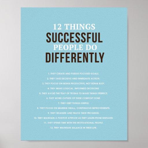 "Successful People 8""x 10"" Art Print"