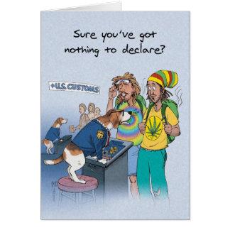 Succionador del beagle - cumpleaños divertido tarjeta de felicitación