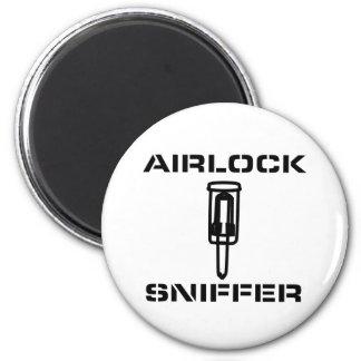 Succionador del bolsa de aire imán redondo 5 cm