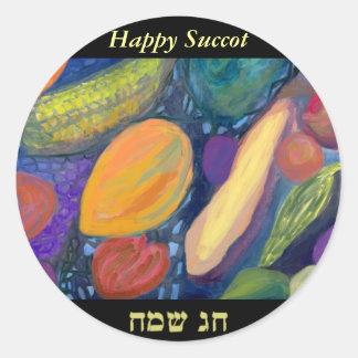 Succot Sameach Stickers