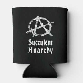 Succulent Anarchy Can Can Cooler