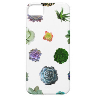 succulent case- white iPhone SE/5/5s case