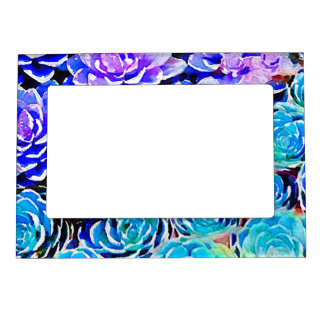 Succulent Colors Magnetic Picture Frame