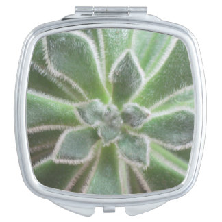 Succulent Compact Mirror