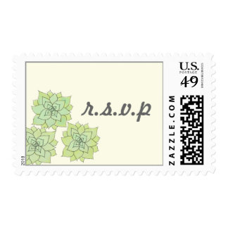 Succulent Custom Postage