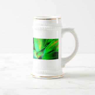 Succulent del tecnicolor taza de café