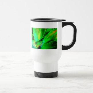 Succulent del tecnicolor taza