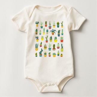 Succulent Delight Baby Bodysuit