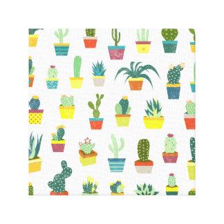 Succulent Delight Canvas Print