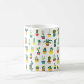 Succulent Delight Classic White Coffee Mug