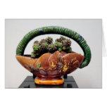 Succulent en cesta por la planta perfecta felicitaciones