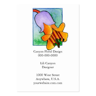 Succulent Flowers Business card